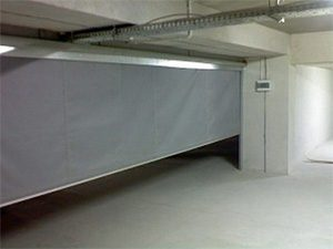 Car Park Fire Curtain