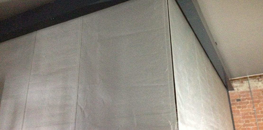 Smoke and Fire Curtain, London
